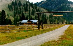 Sheep Mountain Lodge In Superior Montana
