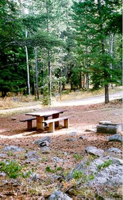 Hells Canyon Campground In Big Timber Montana